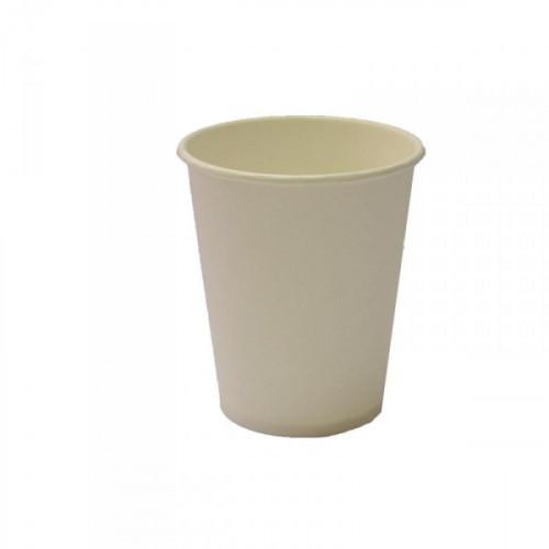 Стакан одноразовый TasteQuality бумажный белый на 200 мл по 75 штук в упаковке