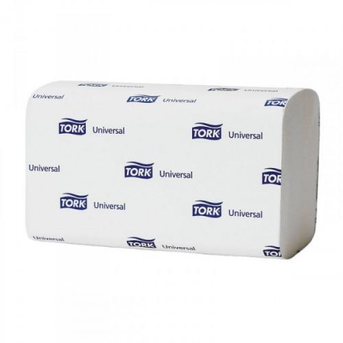 Полотенца бумажные Tork Universal H3 120108 ZZ-сложения 1-слойные 20 пачек по 250 листов