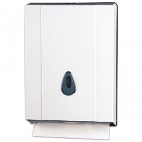 Держатель для листовых полотенец KSITEX (Система H2), Interfold, белый, ТН-8035A
