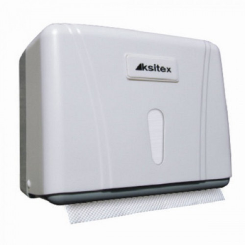 Держатель для листовых полотенец KSITEX (Система H3), ZZ (V), белый, ТН-404W