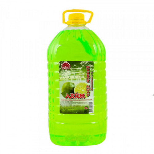 Мыло жидкое с глицерином KAORI Лайм/ 5л  ПЭТ  (ММЗ  г. Москва)