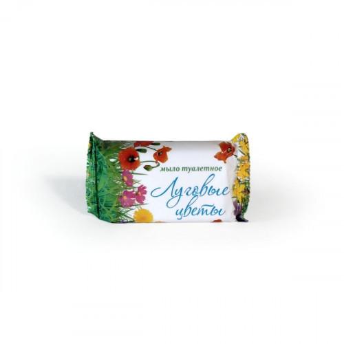Мыло туалетное Луговые цветы в обертке 90 г