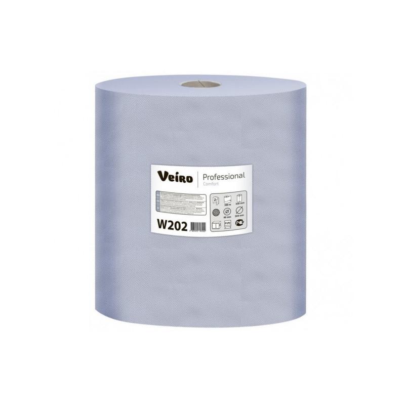 Протирочный материал размер листа 330х350 мм х 1000 листов 350 м Veiro Professional Comfort 2 рулона в упаковке