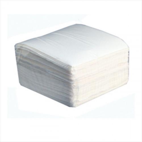 Салфетки белые бумажные 1-слойные 50 шт/уп