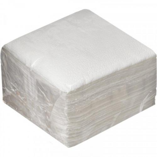 Салфетки цветные бумажные 1-слойные 24х24 цвет  АССОРТИ 100 шт/уп