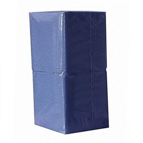 Салфетки синие бумажные 1-слойные 400 шт/уп
