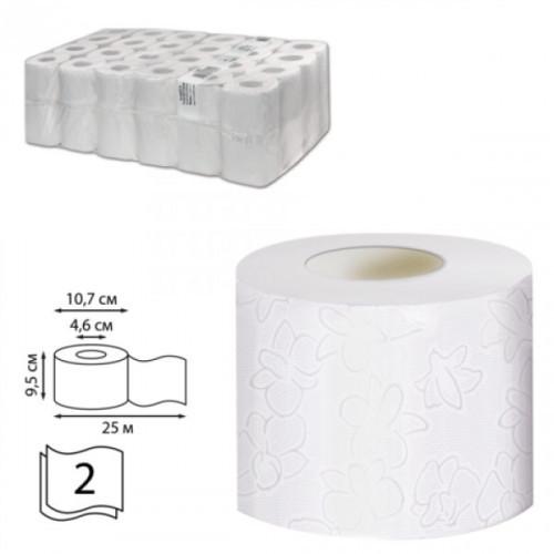 Туалетная бумага Veiro Professional Comfort рулонная белая 2-слойная 25 м 48 рул/кор