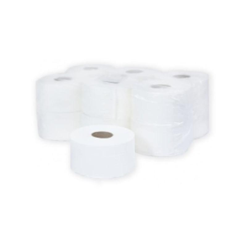 Туалетная бумага 2-слойная в средних рулонах 160 метров Терес Комфорт (12 рулонов в упаковке)