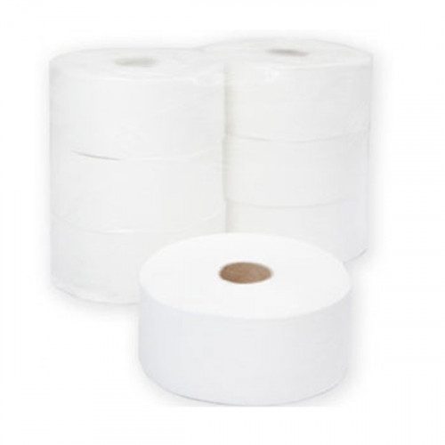 Туалетная бумага 2-слойная, 9,5см, 250м/рул, белая, целлюлоза, Терес Комфорт maxi, 6 рул/упак
