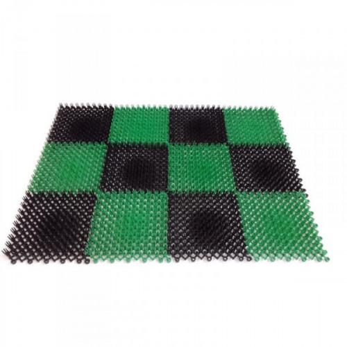 Коврик для вытирания ног для помещений York Травка 420x560x10 мм