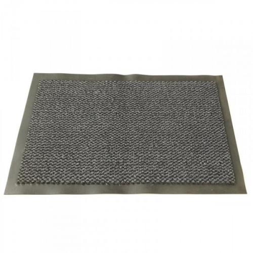 Ковер грязезащитный ворсовый на ПВХ-основе 900х1500х8 мм серый