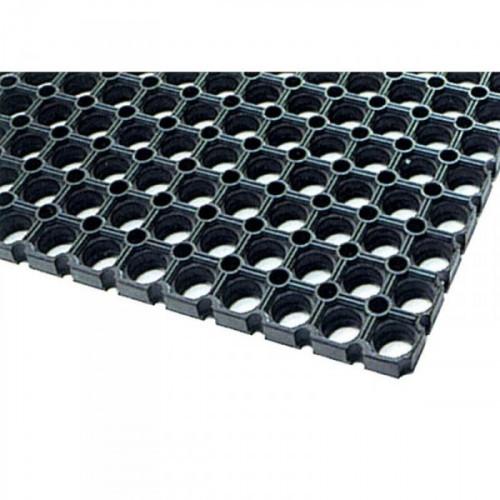 Резиновое покрытие универсальное черное 500х1000х14 мм