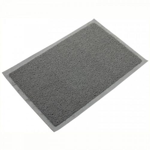 Коврик входной грязезащитный пористый Vortex (40х60см, серый)
