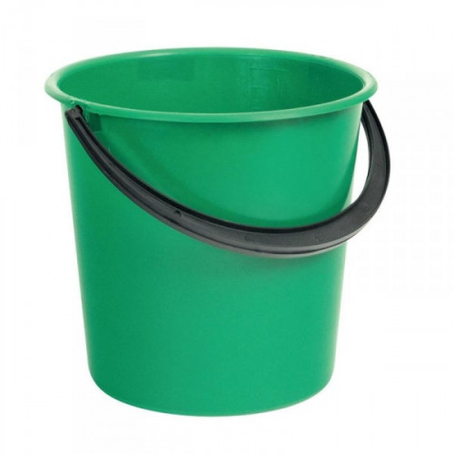 Ведро пластиковое 10 литров без крышки в ассортименте