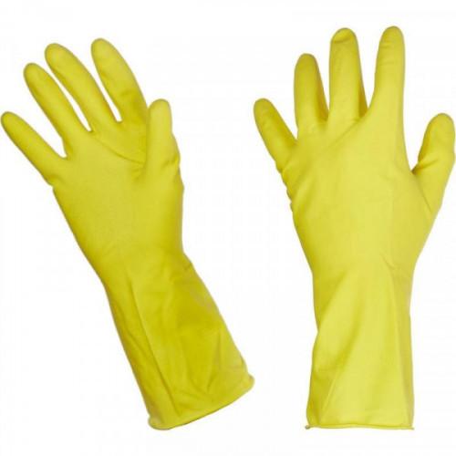 Перчатки резиновые Paclan Professional (размер 8, M)