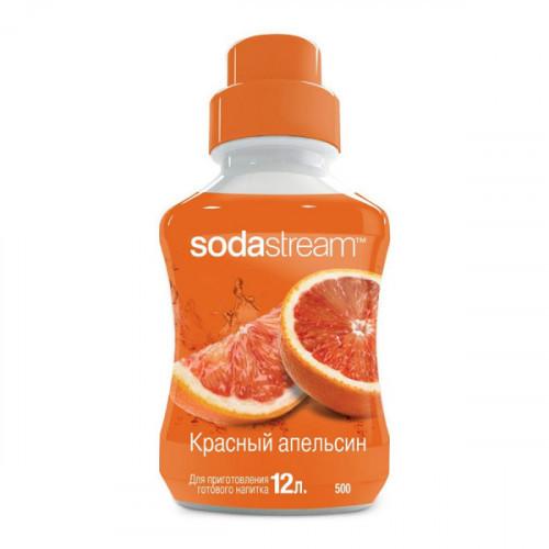Сироп SodaStream Красный апельсин 500 мл на 12 литров напитка