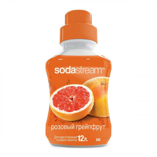 Сироп SodaStream Розовый грейпфрут 500 мл на 12 литров напитка