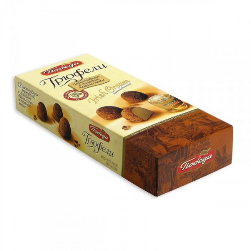 Трюфели шоколадные Победа Irish cream 180 грамм