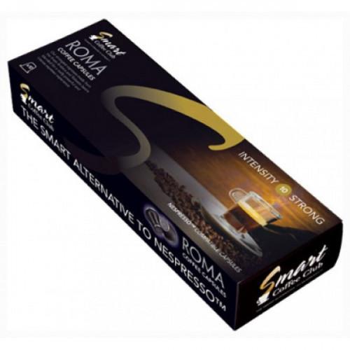 Капсулы для кофемашин Smart Coffee Club Roma 10 штук в упаковке