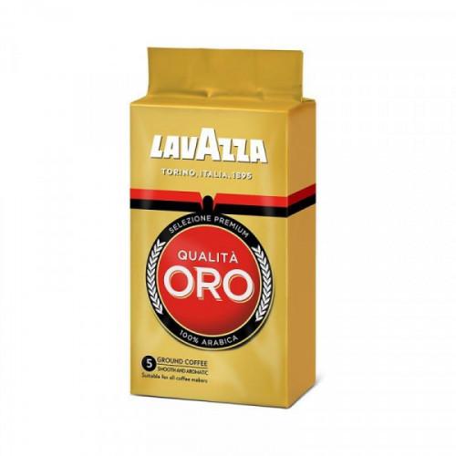 Кофе молотый Lavazza Oro 250 грамм вакуумная упаковка
