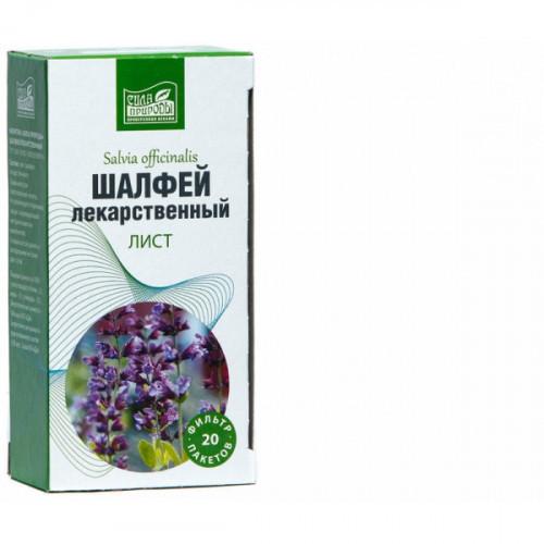 Фиточай Шалфей Наследие природы 20 фильтр-пакетов х 1,5 г (КРАТНО 2 пач)