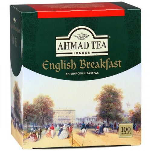Чай Ahmad English Breakfast черный 100 пакетиков