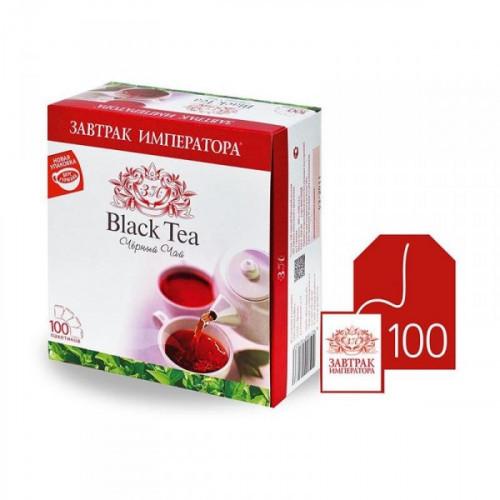 Чай Завтрак Императора черный 100 пакетиков