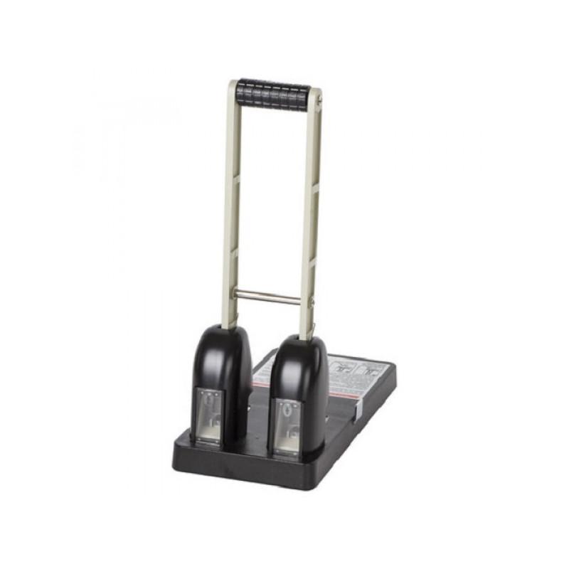 """Дырокол мощный BRAUBERG """"Kraft"""", на 150 листов, металлический, черный, 226870"""