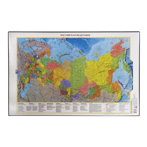 Коврик-подкладка 590х380 мм, с картой России, ДПС, 2129.Р