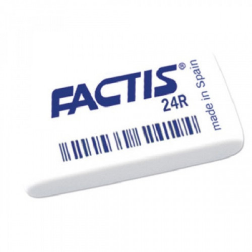 Ластик FACTIS 24 R (Испания), прямоугольная, 52х29х10 мм, синтетический каучук, CNF24R