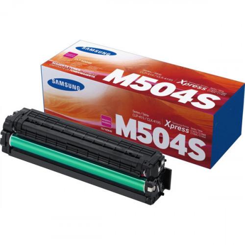 Картридж SAMSUNG CLT-M504S/SU294A (CLP-415/470/475/CLX-4170/4195) пурпурный 1,8к (СОВМ)