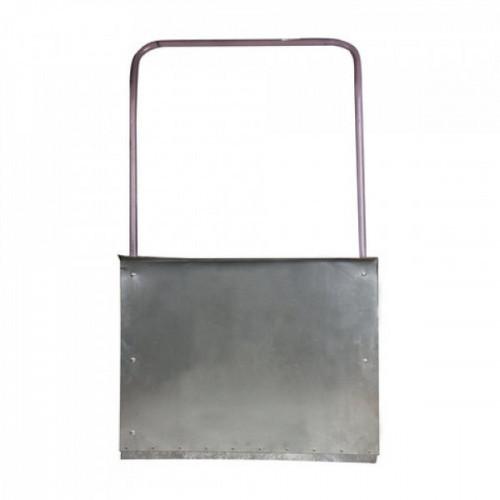 Лопата-скребок (скрепер), оцинкованная сталь 0,8 мм, 75х55 см, высота 120см, с металической ручкой, 603557
