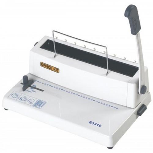 Брошюровщик Office Kit B3415 A4/перф.15л.сшив/макс.120л./метал.пруж. (5.5-14.5мм)
