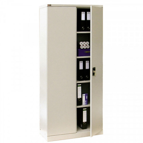 Металлический шкаф архивный КД155 с ключевым замком 800х400х1820 мм