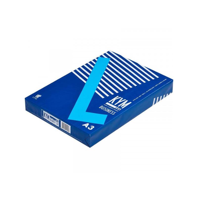 Бумага KYM LUX Business А3 80 грамм 164%CIE пачка 500 листов