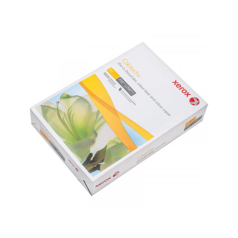 Бумага для цв.лазер.печ. XEROX COLOTECH PLUS (А4,250г,170CIE%) пачка 250л.