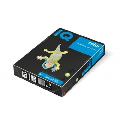 Бумага цветная IQ COLOR А4 80 г black-черный 500 листов