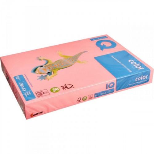 Бумага цветная IQ COLOR А3 80 г NEOPI-розовый неон 500 листов