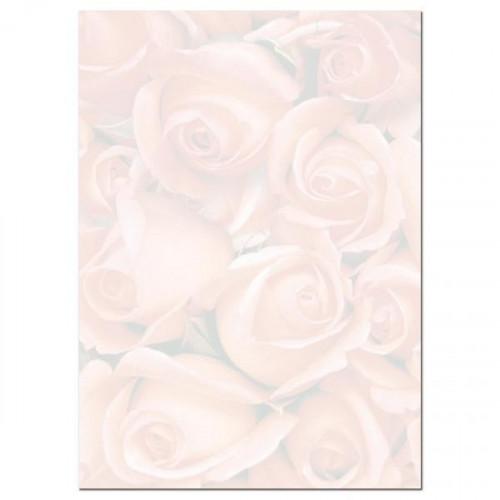 Дизайн-бумага Ковер из роз А4 90 г 20 листов