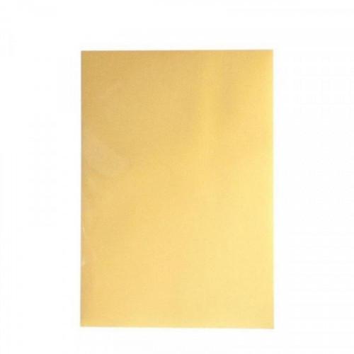 Дизайн-бумага Золотистый металлик (А4,130г.,уп.20л.)