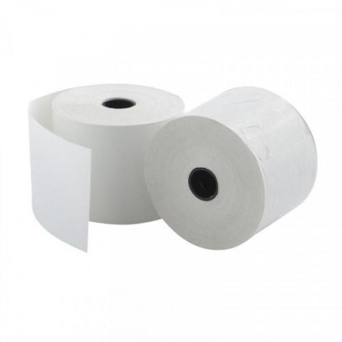 Чековая лента из офсетной бумаги 44 мм Promega jet (диаметр 60 мм, намотка 30 м, втулка 12 мм, 20 штук в упаковке)