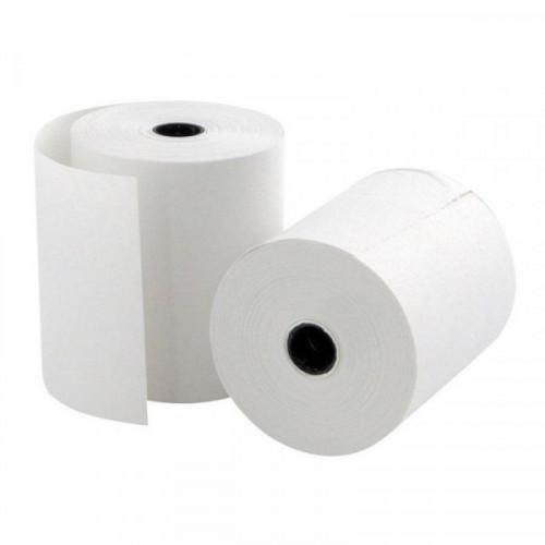 Чековая лента из офсетной бумаги 69 мм Promega jet (диаметр 50 мм, намотка 20 м, втулка 12 мм, 12 штук в упаковке)