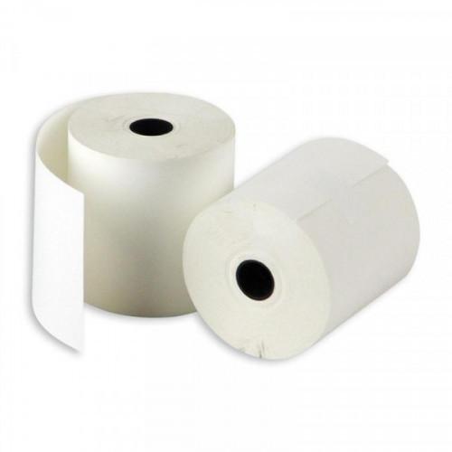 Чековая лента из термобумаги 80 мм (диаметр 52-54 мм, намотка 43 м, втулка 12 мм, 12 штук в упаковке)