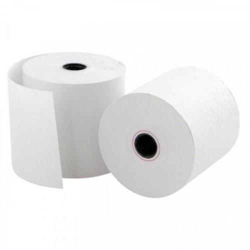 Чековая лента из офсетной бумаги Promega jet 57 мм (диаметр 50 мм, намотка 28 м, втулка 12 мм, 16 штук в упаковке)