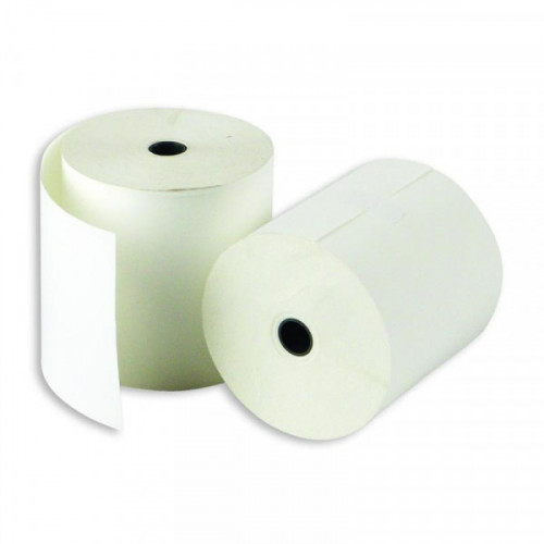 Чековая лента из термобумаги 80 мм (диаметр 66-68 мм, намотка 70 м, втулка 12 мм, 8 штук в упаковке)
