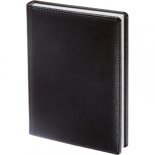 Ежедневник недатированный черный А5 143х210 мм 176 листов ATTACHE Каньон
