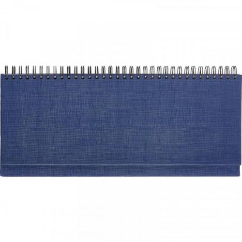 Планинг недатированный Attache Economy бумвинил 56 листов синий (300x135 мм)