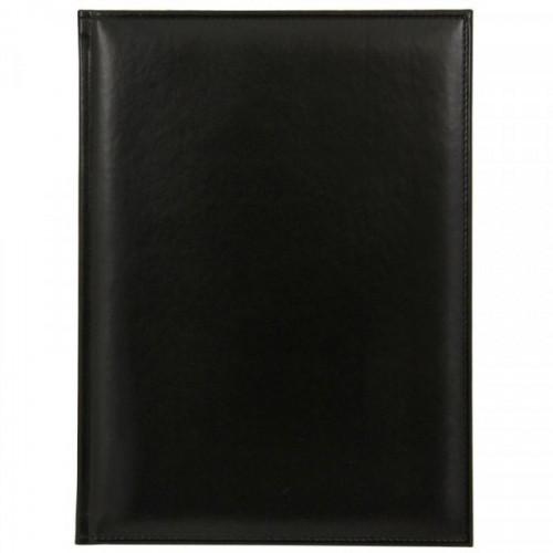Ежедневник недатированный Attache Каньон искусственная кожа A4 176 листов черный (200x270 мм)