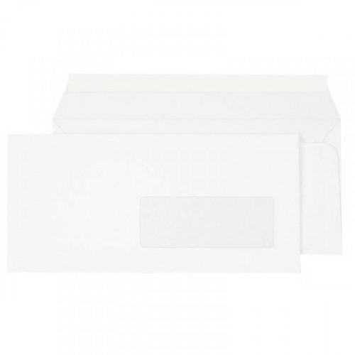 Конверты в упаковке ECOPOST Е65 стрип правое окно 110х220 мм 80 г 1000 штук