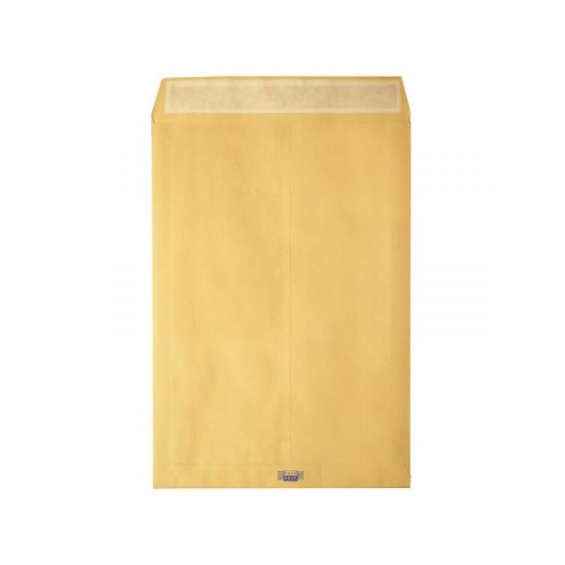 Пакет С4 (229х324мм) 100г/кв.м стрип с расширением крафт-бумага 200 штук в упаковке